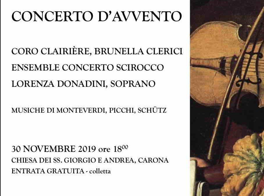 Concerto a Carona